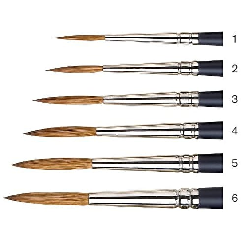 Winsor & Newton Artists' Watercolour Short Handle Rigger Brush